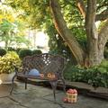"""NEW SALE!42.5"""" Outdoor Garden Rose Bench Park Porch Patio Chair with Adjustable Foot Pad"""