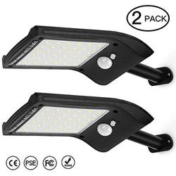 Outdoor Solar led Lights?AICase 36 LED Outdoor LED Solar Powered Motion Sensor Lights Wireless Security Wall Lighting Garden Light for Patio Deck Yard Garden Pathway Driveway?2 Pack)