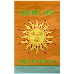 "Grasslands Road Groove Garden ""Shine on"" Sun Garden Flag"