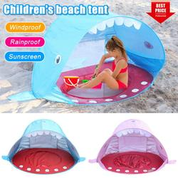 Amerteer Baby Beach Tent,Tents for Camping, Pop Up Tent Sun Shade Instant Tent Sun Shelter Kids Beach Tent Waterproof Portable UPF 50+ UV Protection Tent for Outdoor Family Camping Hiking Fishing