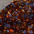 """Fire Pit Glass - Dark Amber Reflective Fire Glass Beads 3/4"""" - Brown Reflective Fire Pit Glass Rocks - Blue Ridge Brandâ""""¢ Reflective Glass Beads for Fireplace and Landscaping 3, 5, 10, 20, 50 Pounds"""