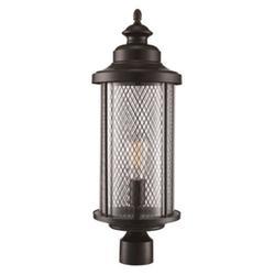 "Trans Globe Lighting 40743 Stewart 1 Light 20"" Tall Outdoor Single Head Post Light"
