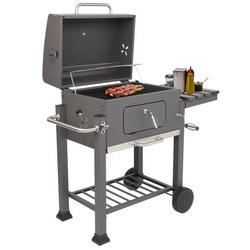 Portable Charcoal Grill, Outdoor Charcoal Grills w/ Plastic Wheel, Charcoal BBQ Grills Outdoor, Portable Charcoal Barbeque Grills, Charcoal Grill for Parties Camping Outdoor Barbecue, R799