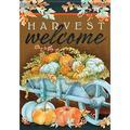 Carson House Flag - Harvest Wheelbarrow