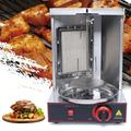 Gas Grill Meat Machine BBQ Rotisserie Oven Smokeless Vertical Broiler 110V LPG