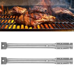 Mgaxyff Grill Burners,Grilling Corner Pipe Burners,Stainless Steel Grill Burners Crossover Tubes Set Replacement Parts Fit for Charbroil