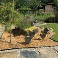 Yesbay Garden Stake Black Chicken Shape Lifelike Acrylic Garden Decorative Stake for Yard 4
