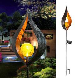 Solar Garden Lights Outdoor Solar Light Stakes LED Garden Light Landscape Decorative Pathway Light;Outdoor Solar Light Stakes LED Garden Light Landscape Decor Pathway Light
