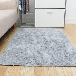 Fluffy Rug Carpets Soft Shaggy Area Rug Indoor Floor Rugs for Kids Room Fuzzy Carpet Comfy Cute Nursery Rug Bedside Rug for Boys Girls Bedroom Living Room Home Decor Mat, 4ft x 2.7ft