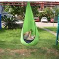ZDMATHE Swing Chair Hammock Kids Swing Pod Single Home Children Creative Indoor Outdoor Garden Portable Hanging Seat