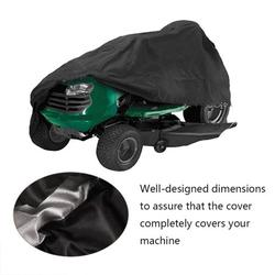 EBTOOLS Cover for Lawn Mower, Lawn Mower Cover,55 Lawn Mower Guard Shovel Dust Cover Tractor Sunscreen Cover