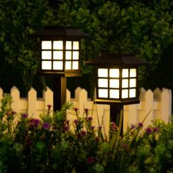 Solar Garden Lights, Garden Lights Solar Powered, Waterproof Solar Yard Lights for Lawn, Patio, Yard, Pathway, Walkway and Driveway(2 Pack, Warm White/Colorful/White)