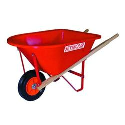 WB-JR Poly Tray Lightweight Childrens Size Wheelbarrow, High density poly tray is corrosion proof and lightweight By Seymour