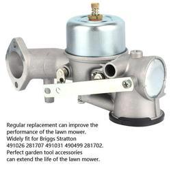 Kritne Garden Lawn Mower Carburetor Accessory Carb Replacement for Briggs Stratton 491026 281707 491031 490499 281702,Carburetor Replacement,Lawn Mower Accessory