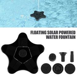 HOTBEST Mini Solar Floating Water Bird Bath Fountain for Garden Pool Pond Decoration Outdoor Flower Water Floating Pond Pump with Smart Solar Powered Panel Kit Patio Decor Fish Tank