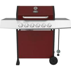 Expert Grill 6 Burner Propane Gas Grill in Red