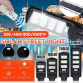 80/160/240/320LED Outdoor Solar Street Light, LED Solar Lights Infrared Motion Sensor Remote Control Wall Lamp Garden Path Security Area Lighting,without Pole