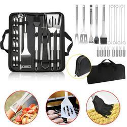 Grill Kit, Grill Set,Grilling Utensil Set,Grilling Accessories,BBQ Accessories,BBQ Kit,BBQ Grill Tools,20 PCS