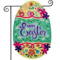 Easter Garden Flag Seasonal Yard Sign Spring Yard Outdoor Decoration He is Risen Flags Home Sweet Home Garden Flag Summer Welcome Floral Yard House Flag Decor