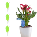 AIKEJANI Automatic Watering Spike Planter Drip Irrigation Household Plastic Self-Watering Plants Automatic Dripper Automatic Sprinkler 3pcs (Green)