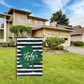 Happy St Patricks Day Garden Flag,Welcome St Patricks Day Flag for Spring Summer Yard House Outdoor Decoration