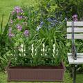 """Raised Planter Box, 48""""x23.8""""x11.8"""" Raised Bed Planter, Vegetable/Flower/Herb Elevated Garden Bed, Perfect for Garden, Patios, Balcony, JA2513"""
