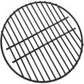 BBQ Cooking Grill, Round BBQ Grill Porcelain Coated Steel Wire Mesh Grate Suitable for Large Green Egg and Kamado Stove (13 inch)