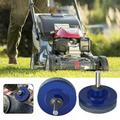 Kernelly Lawn Mower Blade Sharpener Universal Multi-Sharp Rotary Lawnmower Sharpen for Power Drill Hand Drill and Lawn Mower Blade Balancer