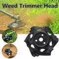 Weed Trimmer Head Lawn Mower Sharpener Weed Trimmer Head for Power Lawn Mower