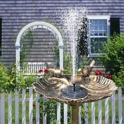Patgoal 1pcs Solar Fountain/ Fairy Garden Accessories Outdoor/ Fountain Pump/ Solar Water Fountain/ Solar Pool Heater/ Solar Fountain Pump for Bird Bath/ Solar Fountain Pump/ Solar Water Pumppcs
