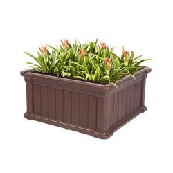 """Raised Planter Box, 23.8""""x23.8""""x11.8"""" Raised Bed Planter, Vegetable/Flower/Herb Elevated Garden Bed, Perfect for Garden, Patios, Balcony, JA2507"""