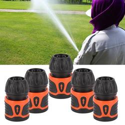 Kritne Hose Connector, Water Pipe Connector,5Pcs 1/2 Garden Hose Quick Connector Water Pipe Connector Home Gardening Accessories