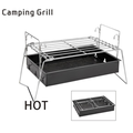 INTBUYING Best Camping Portable Barbecue Grills Outdoor Small BBQ Charcoal Stove Portable Outdoor