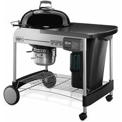 """Weber Performer Deluxe 22"""" Black Charcoal Grill"""
