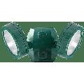 RAB Lighting 26W (2x13W) LED LESLIE 4000K Economy Bullet Floodlight Verde Green