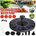 Solar Fountain Water Pump for Bird Bath, Mini Solar Powered Fountain Pump 1.4W Free Standing Solar Panel Kit Water Fountain for Garden