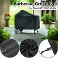 """39.8""""x25.5""""x48.5"""" Heavy-Duty Barbecue Black 3-4 Burner Gas Grill Cover - UV Protected for Weber 7152 Charcoal Grill"""