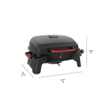 Megamaster Grills 820-0065C Single Burner Portable Tabletop Propane Gas Grill