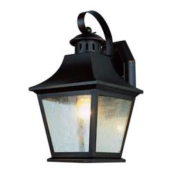Trans Globe Lighting 4872 1-Light Up Lighting Outdoor Medium Wall Sconce from the Outdoor Collection