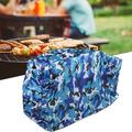 Mgaxyff Portable BBQ Grill Cover Outdoor Barbecue Dust Waterproof Grill Cover BBQ Accessories,BBQ Grill Cloth Cover,Outdoor Barbecue Grill Cover
