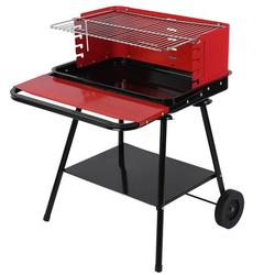 Brrnoo BBQ Grill Rack Outdoor Camping Non‑Stick Stainless Steel Barbecue Grill with Wheels BBQ Accessory,BBQ Grill,Barbecue Grill Rack
