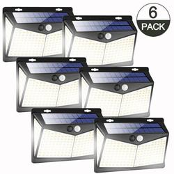 208 exgreem LED Solar Lights Outdoor, 1-10 PACK Solar Motion Sensor Wireless Security Lights Outdoor with 3 Lighting Modes, 270° Wide Angle Lighting, IP65 Waterproof