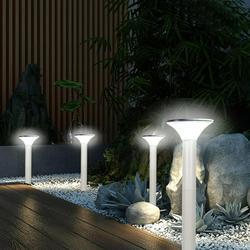 EBTOOLS Solar Post Light, Yard Solar Post Light,6500K Outdoor LED Solar Post Light with Automatic On/Off Sensor for Lawn Yard Patio Walkway