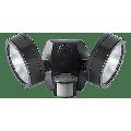 RAB Lighting 26W (2x13W) LED LESLIE 4000K Economy Bullet Floodlight Bronze With Sensor