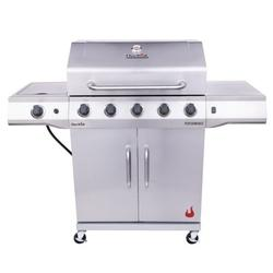 Char-Broil Performance Stainless Steel 5-Burner Liquid Propane, (LP), Cabinet-Style Outdoor Gas Grill