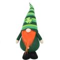 "23"" St. Patrick Gnomes with Clover Leaf, Home Decorative Gnome, Garden Gnomes Decor"