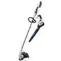 HART 40-Volt Cordless 12-inch String Trimmer and Blower Combo