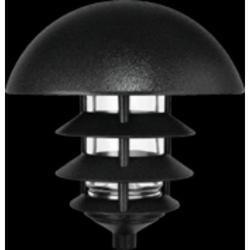 RAB Lighting Black 4 Tier Lawn Light w/Dome Top
