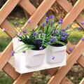 2-Pocket Stackable Home Garden Wall Hanging Vertical Flower Pot Succulents Planter , Succulents Planter, Wall Flower Pot