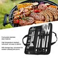 ANGGREK Barbecue Utensils,21Pcs/Set BBQ Outdoor Stainless Steel Barbecue Grill Tools Utensils Kit Kitchen Accessories,Kitchen Supplies